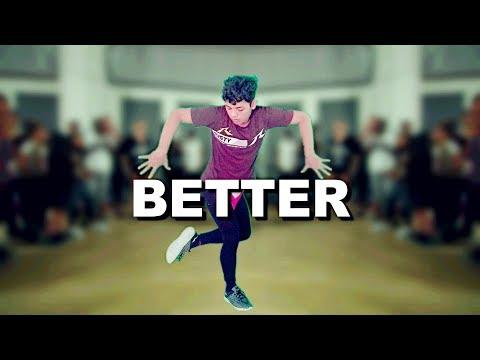 BETTER - KHALID | ZD-EBI Choreography & UQN Dance Studio
