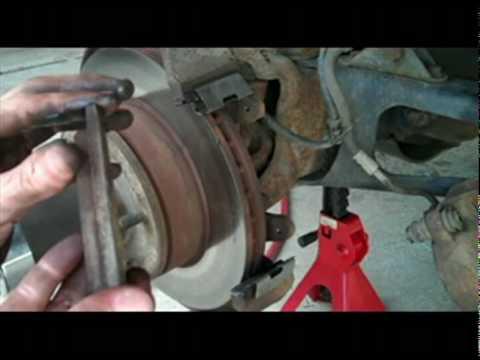 Lubricating Ford Brake Pad Sliders Youtube