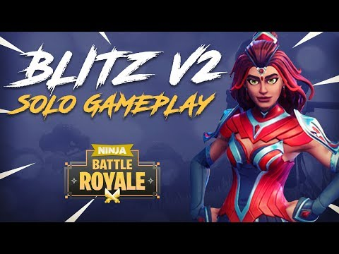 Soloing The New Blitz V2 Gamemode! - Fortnite Battle Royale Gameplay - Ninja
