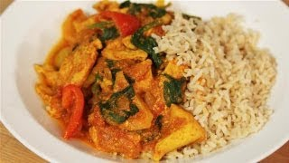 How To Make A Low Fat Chicken Curry: The Lighter Option - S01e5/8