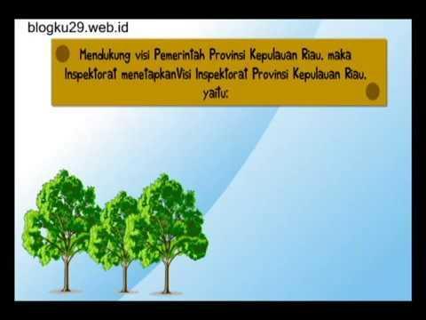 Video Animasi Visi dan Misi Pemerintah Riau