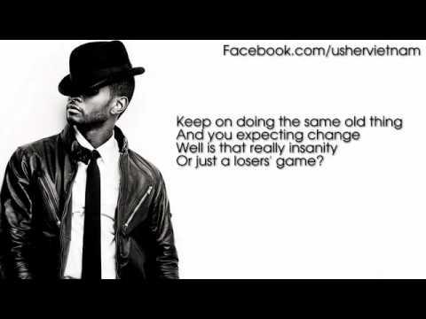 Usher - Numb [Lyrics Video]