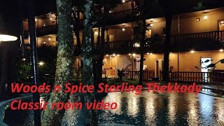 Staying in Thekkady Woods n Spice Sterling Classic Room Video