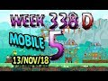Angry Birds Friends Tournament Level 5 Week 338-D  MOBILE Highscore POWER-UP walkthrough