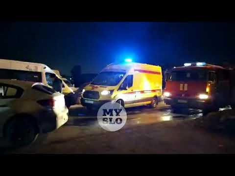 В Туле при столкновении автобуса и легковушки пострадал ребенок