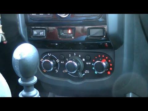 Обогрев и охлаждение салона Renault DUSTER (Рено Дастер)
