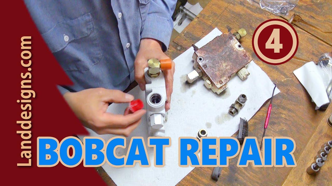 bobcat hydraulic repair 4 [ 1280 x 720 Pixel ]