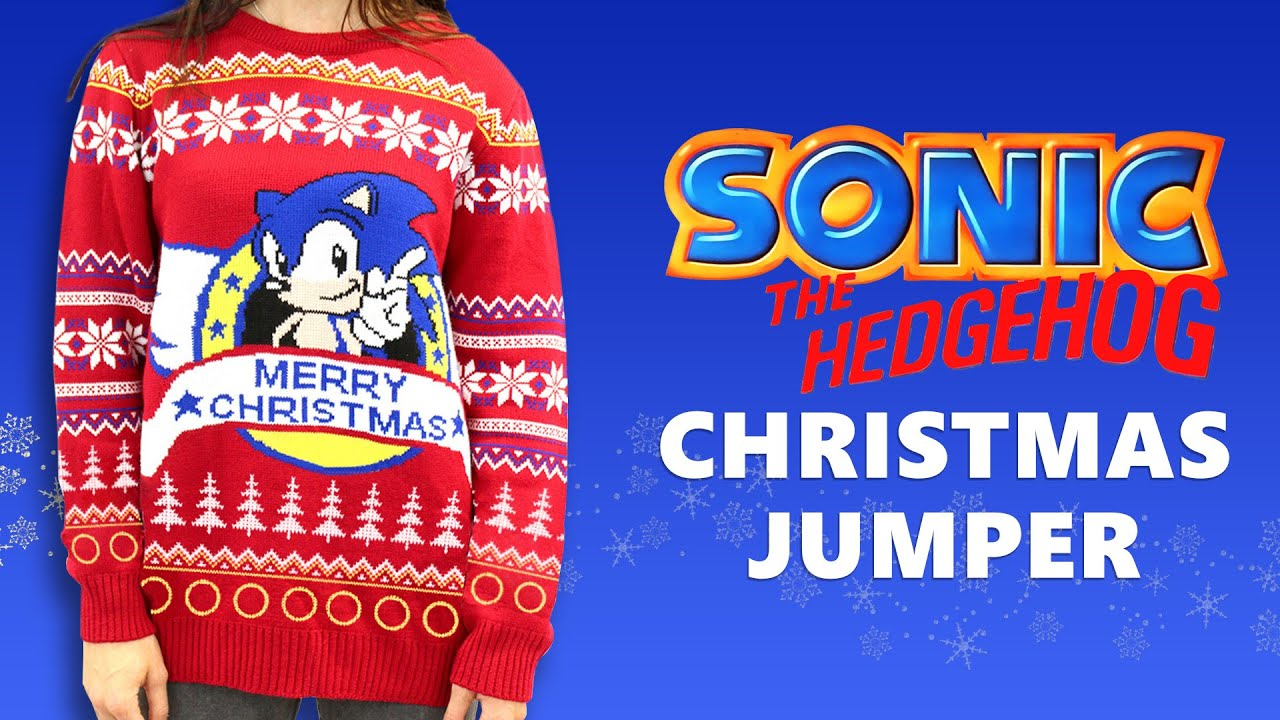 Sonic the Hedgehog Christmas Jumper - Official Merchandise - YouTube