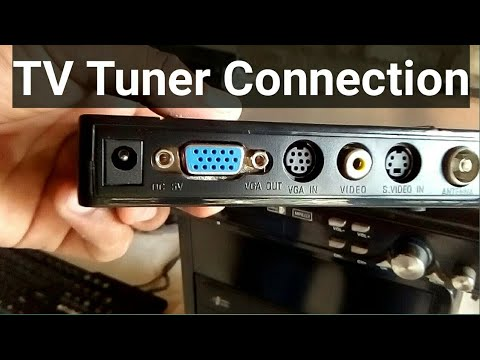 How To Connect TV Tuner | Golu Singh