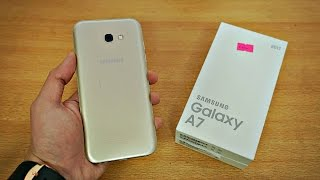 Samsung Galaxy A7 (2017) - Unboxing & First Look! (4K)