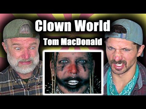 "Gay Guys React To Tom MacDonald – ""Clown World"""