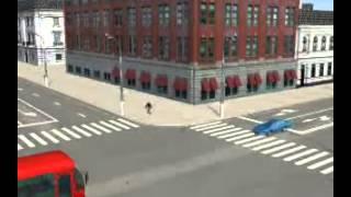 Проезд перекрестков. Видеокурс ПДД.(Видео-урок для учащихся автошкол и всех водителей. Учимся правильно проезжать перекрестки и уступать..., 2014-12-16T17:00:44.000Z)