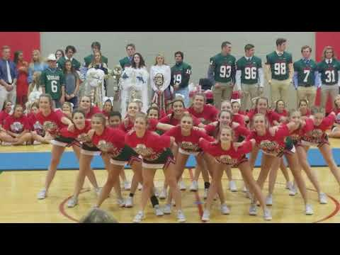 the woodlands high school freshman cheer team