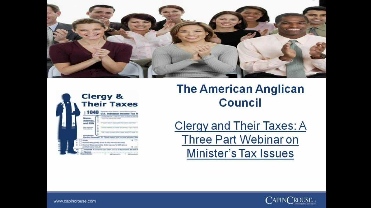 Clergy housing allowance worksheet 2016