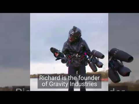 Inventor breaks the jet suit speed record This real life 'Iron Man' just broke the speed record