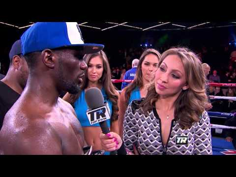 Post Fight with Terence Crawford