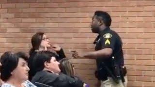 Teacher arrested after asking about boss' raise