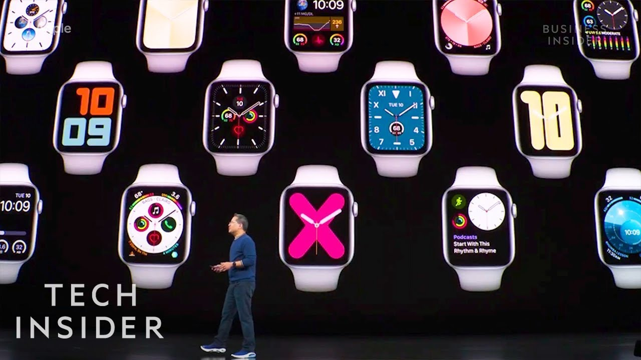 Apple unveils Apple Watch Series 5