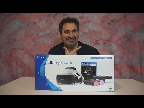 """PLAYSTATION VR """"Skyrim Combo"""" Unboxing !!!"""