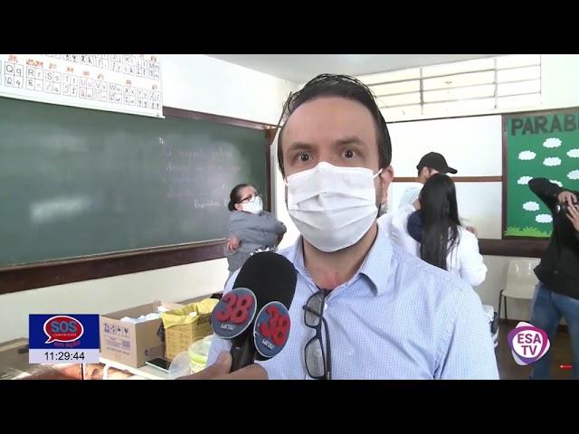 VACINAÇÃO CONTRA COVID-19 SEGUE ACONTECENDO A TODO VAPOR NA CIDADE DE ARAPONGAS