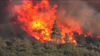 So. California Wildfire Forces Thousands to Flee