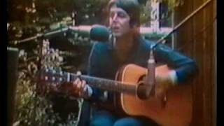 1974 Paul McCartney:  The Backyard Tapes