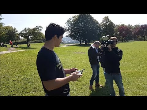 DRONE RACING in Germany and meeting fans w/Conner Sullivan