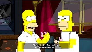 The Simpsons Game Walkthrough Part 10 - Bargain Bin [HD 1080p] (Xbox360)
