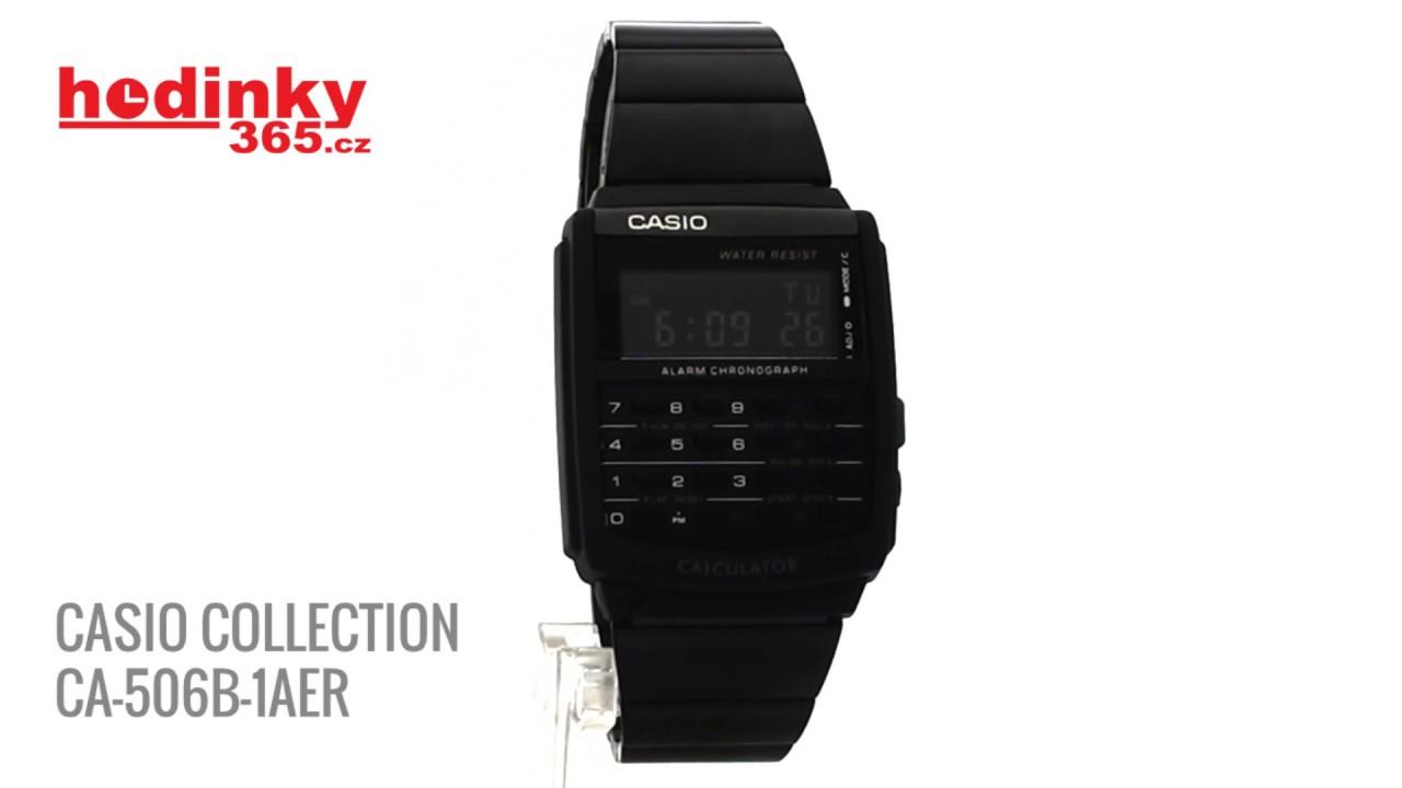 CASIO COLLECTION CA 506B 1AER - YouTube 90b6c518e9e