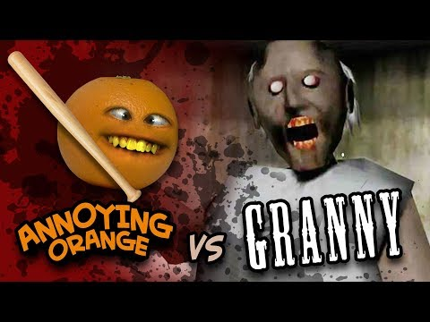 Annoying Orange Vs Granny