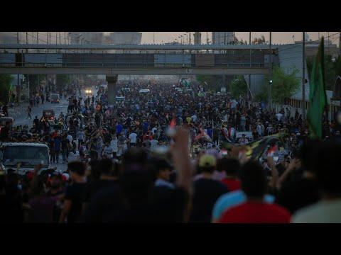 العراق: سقوط قتلى إثر تجدد المواجهات بين المتظاهرين والشرطة لليوم الخامس على التوالي  - 10:54-2019 / 10 / 7