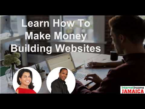 How to make money building websites with Alicia & Kemar