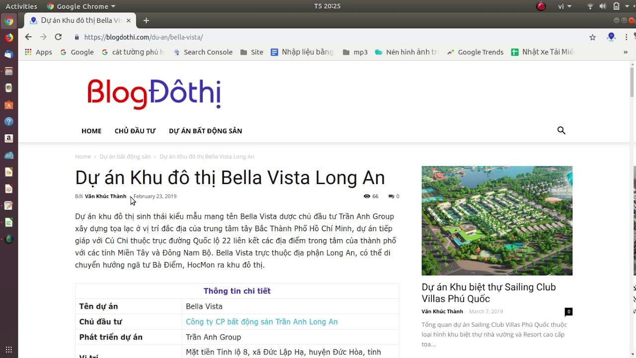 Giới thiệu dự án Bella Vista Long An – Blog Đô thị