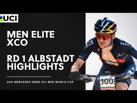 Round 1 - Men Elite XCO Albstadt Highlights | 2021 Mercedes-Benz UCI MTB World Cup