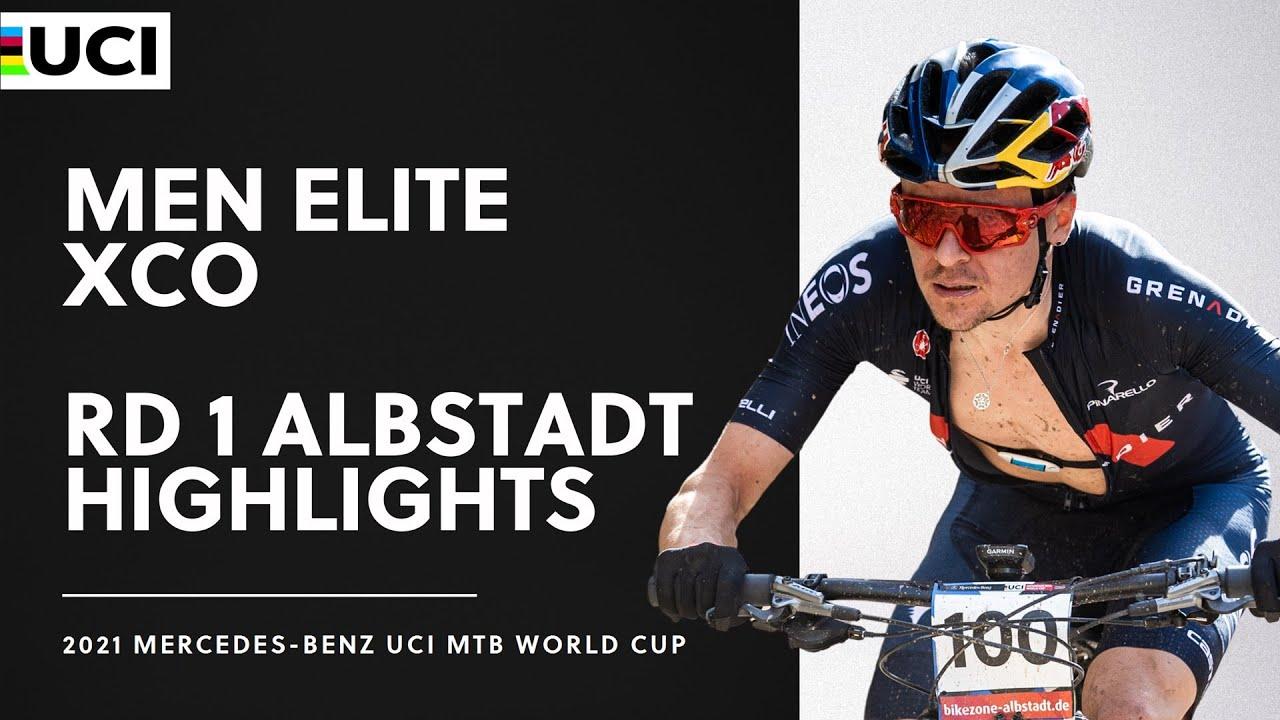 Download Round 1 - Men Elite XCO Albstadt Highlights | 2021 Mercedes-Benz UCI MTB World Cup