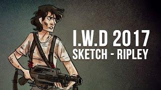 International Women's Day 2017 Sketch - Ripley! thumbnail