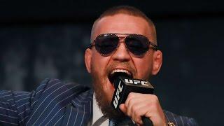 Conor McGregor Vs Eddie Alvarez UFC 205 In MSG Press Conference