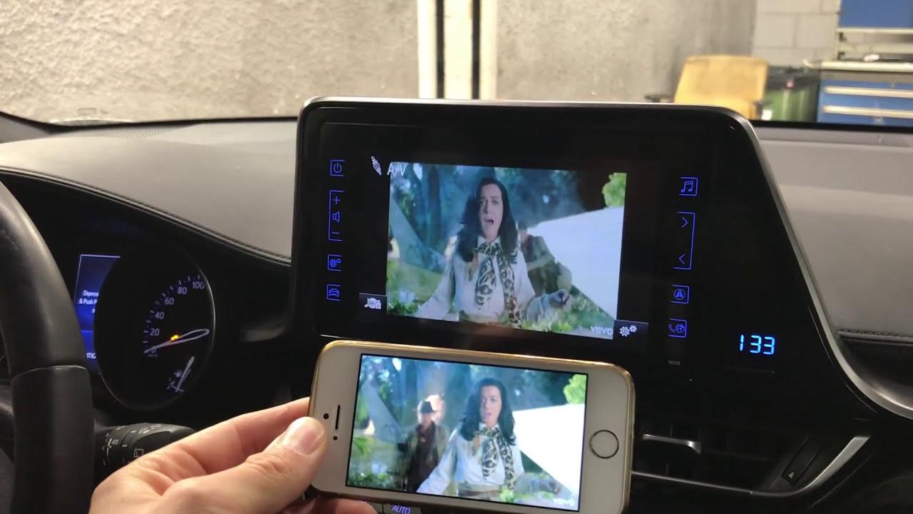 Toyota C-Hr Wifi Mirrorlink  Autoextra 01:43 HD