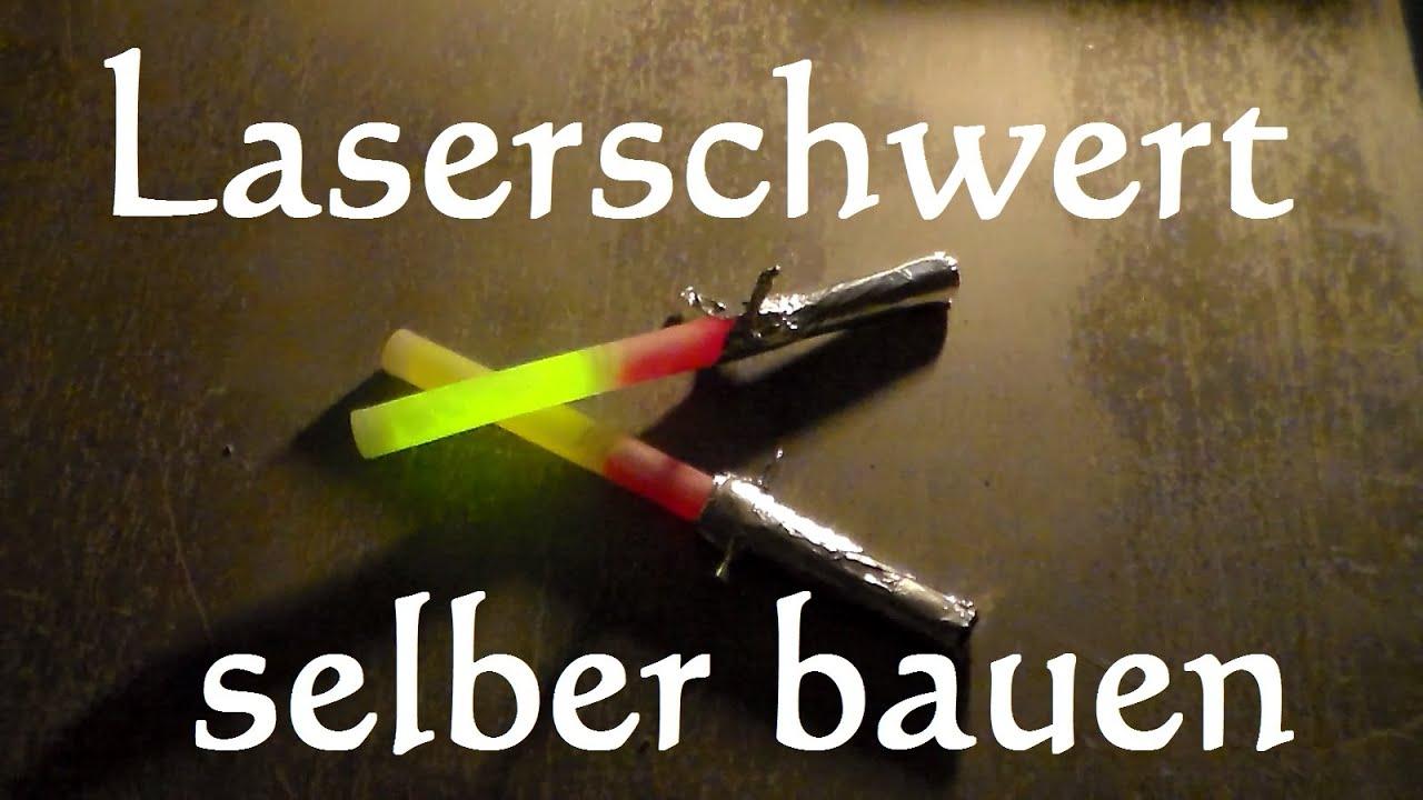 Laserschwert  Lichtschwert einfach selber bauen in 2 min  YouTube