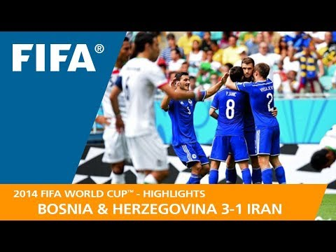 BOSNIA AND HERZEGOVINA v IRAN (3:1) - 2014 FIFA World Cup™
