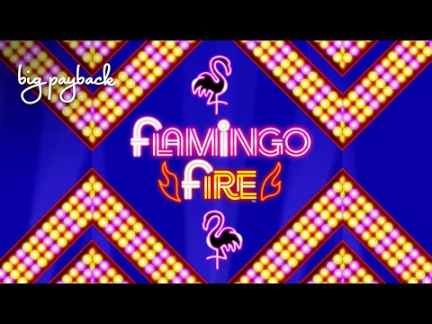 LOVED IT! Flamingo Fire Slot - NICE SESSION, ALL FEATURES! - 동영상
