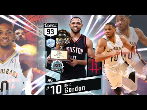 DIAMOND ALL STAR ERIC GORDON!! TOP 3 SHOOTER IN THE GAME CANNOT MISS! NBA 2K17 MYTEAM GAMEPLAY