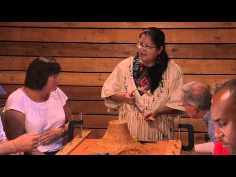 Cedar Weaving - Squamish Lil'wat Cultural Centre