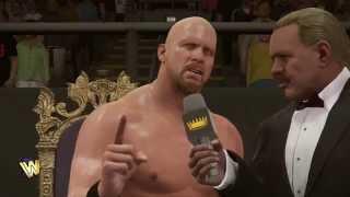 WWE 2K16 Showcase - Steve Austin - ч.1 - Все вы в моём списке