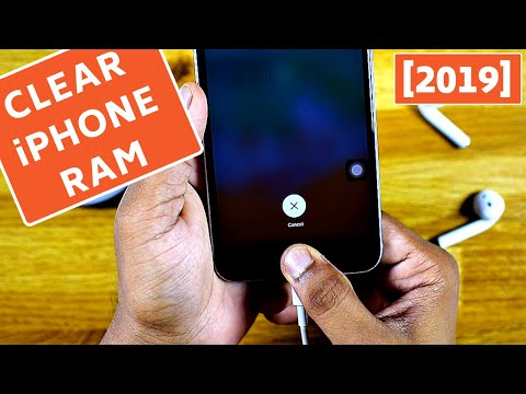 How to clear iPhone RAM memory [with Home Button]-2019