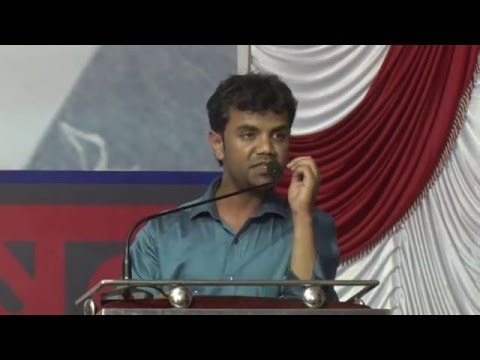 JusticeforRohith : Aligarh Muslim University, Mahfooz Alam at Pratirodh andolan in Mumbai