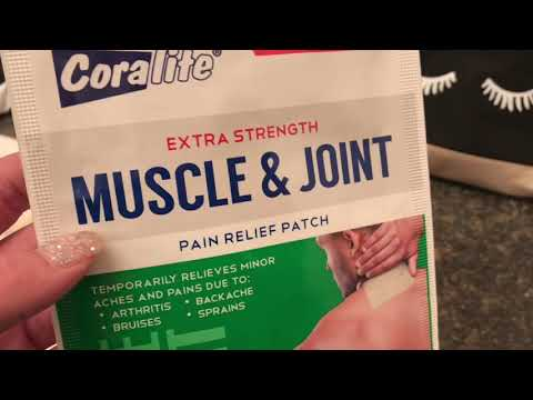 Coralite Pain Relief Patch ❤️ Review ❤️ Dollar Tree