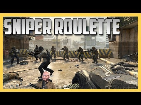 Sniper Roulette In The Center (Bonus: Too Close To The Edge)