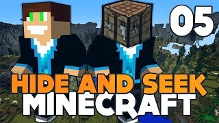 BEKA NIE Z TEJ ZIEMI! XD | Minecraft - Hide'n'Seek #5 | Vertez & Hunter Bright