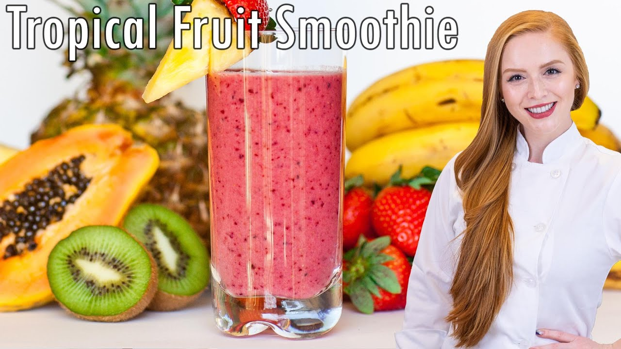Tropical Fruit Smoothie (video)